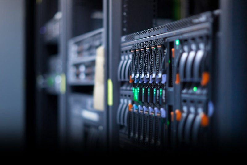 Servers for shared web hosting