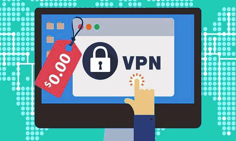 A free VPN has downsides